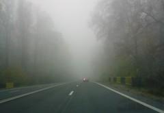Atenţie, şoferi! COD GALBEN de CEAŢĂ în Prahova