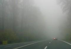 Avertisment pentru şoferi: COD GALBEN de ceaţă şi polei