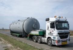 Restricții de circulaţie pe DN1, din cauza unui transport agabaritic