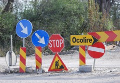 Trafic restricţionat pe DN1 la Cornu