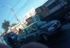 Accident rutier pe strada Mărăşeşti. Un taxi a fost implicat