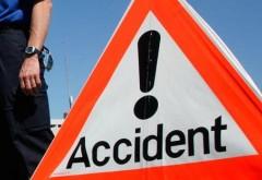 Accident rutier în Urlaţi. O persoană a fost RĂNITĂ