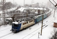 Temperaturi scăzute în toată ţara. Trenurile CFR au întârzieri