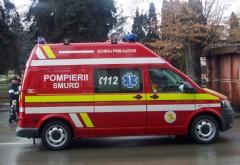 ACCIDENT pe DN1. O femeie şi cei patru copii ai săi au ajuns la spital