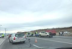 ACCIDENT grav pe DN1, la intersectia cu Floresti. O persoana a decedat, alte trei sunt grav ranite