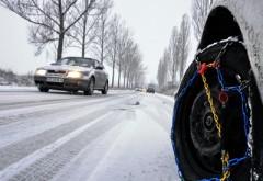 Ninge viscolit la munte. Restrictie de trafic pe DN 1A