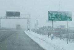 Traficul rutier pe Autostrada Soarelui a fost reluat. Niciun drum naţional nu mai este închis