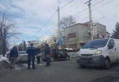 Accident in zona Bulevardului Castanilor, la intersectia strazilor Hasdeu cu 13 Decembrie