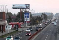 Trafic ingreunat pe DN1 din cauza unui accident