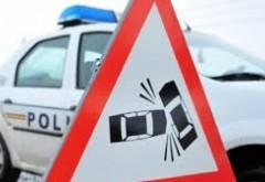 O şoferiţă, rănită într-un accident pe DN 1A