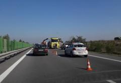 Trafic restricţionat pe Centura de Vest a Ploieştiului, din cauza unui camion cu probleme tehnice