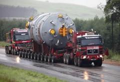 Transport agabaritic. Trei drumuri naţionale din Prahova, afectate