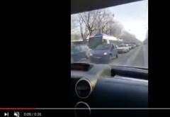 Trafic INFERNAL in Ploiesti, din cauza accidentului de pe Centura. Cozi kilometrice in tot centrul