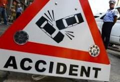UPDATE Accident pe DN 1, la intersecţia cu Păuleşti. O persoană ÎNCARCERATĂ