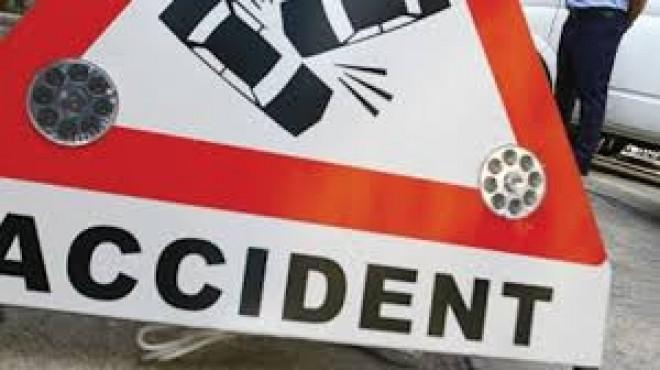 Accident pe DN 1B, la Mizil! OPT persoane, implicate