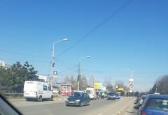 Biciclist lovit de masina in cartierul Bereasca