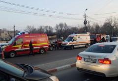 Accident în Bariera Bucov. Două persoane, rănite