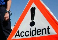 Accident pe DN 1, la Bărcăneşti