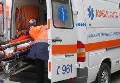 Bătrân accidentat pe trecerea de pietoni de la Cioceanu