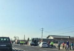 Accident GRAV la Bărcăneşti! Doi MORŢI/ UPDATE: Patru persoane se afla in operatie!
