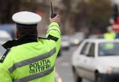 Prins de polițiști băut la volan, și fără permis de conducere
