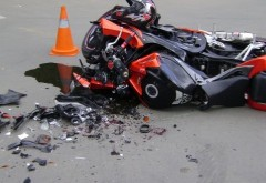 Motociclist mort pe DN 1, la Comarnic