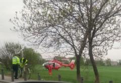 VIDEO EXCLUSIV/ Accident grav pe DN1, la Balotesti. A intervenit elicopterul SMURD