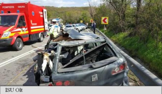 Cele mai grave 15 accidente rutiere din 2017. Doua au avut loc in Prahova