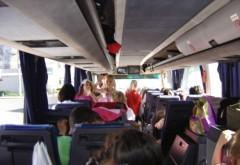 Copiii din autocarul implicat într-un accident pe Centura de Vest a Ploieştiului se întorceau dintr-o excursie