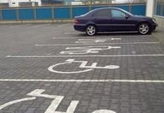 Parchezi pe locurile destinate handicapaţilor? ATENŢIE!