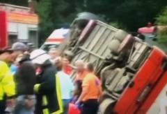 FOTO - Primele imagini de accidentul TERIBIL de la Râșnov