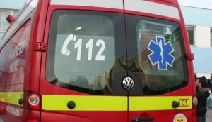 Accident cu patru masini pe DN 1. O femeie gravida este ranita