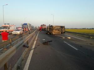 Accident grav la Strejnic!- FOTO