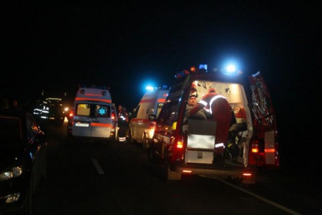 Accident grav la Lipanesti intre un TIR si doua autoturisme. 3 victime