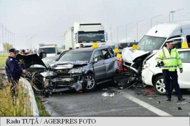 Accident grav la iesirea din Ploiesti, spre Paulesti. O persoana INCARCERATA