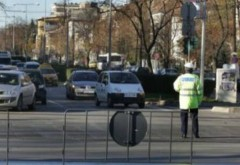 Trafic restrictionat pe DN1 A, in Valeni, de Sf. Maria