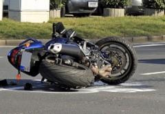 Accident la Urleta. Un motociclist a ajuns la spital