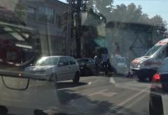 "Accident pe Bulevard, langa liceul ""Mihai Viteazul"""