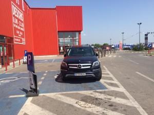 RUX, ai parcat ca un bou handicapat!