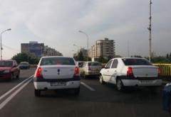 Trafic paralizat în Ploiești. S-a circulat bara la bara pe majoritatea strazilor