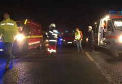 Un accident a avut loc duminica noapte, pe DN1, la Sinaia