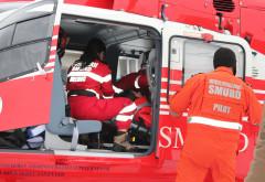 Accident la Valea Calugareasca. A intervenit SMURD-ul