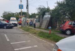 Accident la Valea Călugărească. Doi copii au fost răniți