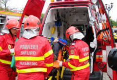 Accident grav in Ploiesti, pe strada Mihai Bravu. Au intervenit echipaje SMURD