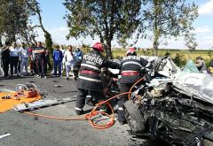 Accident GRAV cu două victime la ieşirea din Bucureşti: Traficul este BLOCAT