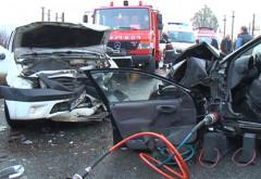 Inca un accident pe DN 1B, la Valea Calugareasca. Doua victime, trafic restrictionat