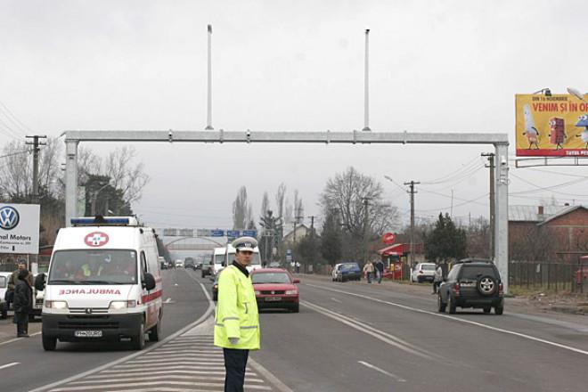 Conditiile de trafic pe DN1 si A3 Ploiesti-Bucuresti, monitorizate printr-un sistem performant