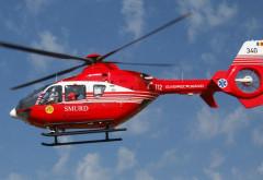 GRAV accident la Pietroşani! A aterizat elicopterul SMURD