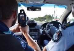 Sofer prins cu 206 km/h in Ploiesti! Politistii l-au luat cu radarul TruCam