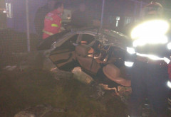 Accident MORTAL pe DN 72, langa Parcul Industrial Ploiesti. Un BMW a fost RUPT IN DOUA in urma impactului cu o alta masina!